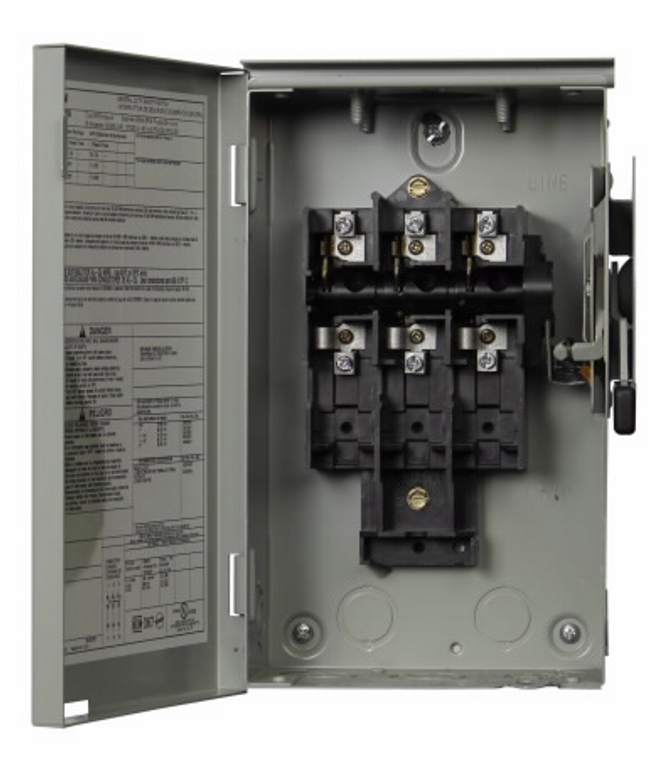 Eaton Cutler Hammer - DG321URB 30A 3 Pole Non Fused AC Disconnect