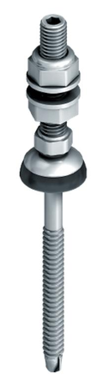 """EJOT JZ3-SB-8.0 x 200/50 FZD 10"""" Metal Roof Solar Fastner for Metal"""