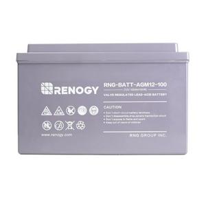 Renogy Batterie AGM à cycle profond 12 Volts 100Ah