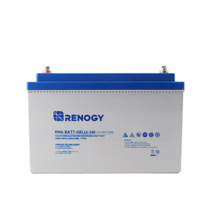 Renogy Batterie Pure Gel à cycle profond 12 Volts 100 Ah