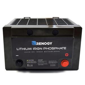 Renogy Batterie lithium-fer phosphate 12 volts 100 Ah