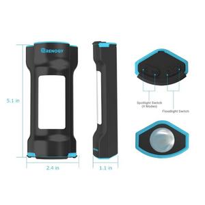 Renogy Lampe de poche magnétique rechargeable E.LUMEN-M