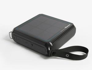 Renogy E.TUNES Enceinte Bluetooth solaire