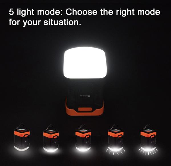 Renogy 10000mAh lanterne de camping rechargeable LED