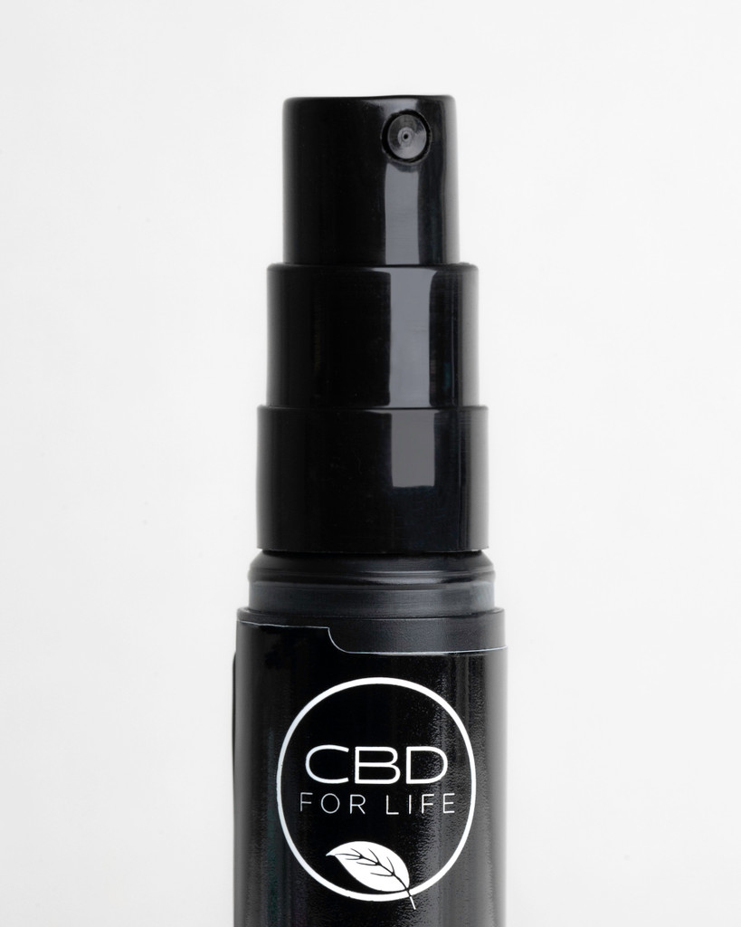"Fast absorbing and fast acting, our CBD Oral Spray is the easiest and most convenient intake—just pump it under your tongue. Keep a CBD Oral Spray in your desk drawer, bedside table or handbag for a quick spray when you need it most. CBD oil spray is a best seller and loved by CBD consumers because of its ease of use. We recommend spraying our CBD oral spray under your tongue, or sublingually. Dosing sublingually  provides a quicker absorption of into the bloodstream through the capillaries for faster results. CBD spray is small and easy to carry, making our CBD oral spray great for travel. Consumers who have reviewed our CBD oil spray have called it, ""wonderful,"" ""great,"" ""amazing""  and even ""the best product ever."" CBD is transforming wellness and self-care."