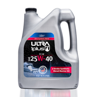 SAE 25W-40 Synthetic Blend Marine Engine Oil FC-W | Ultra1Plus™