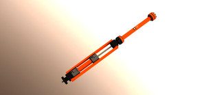 Heshka Oil Wellhead Hydraulic Snubricator