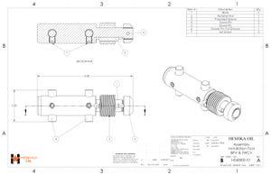 H040800-01 Assembly BPV TWCV Installation Tool