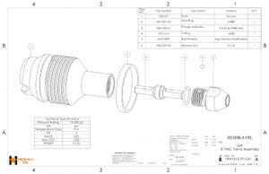 H041612-37 GA 3in TWC Assembly DWG Inconel with 316