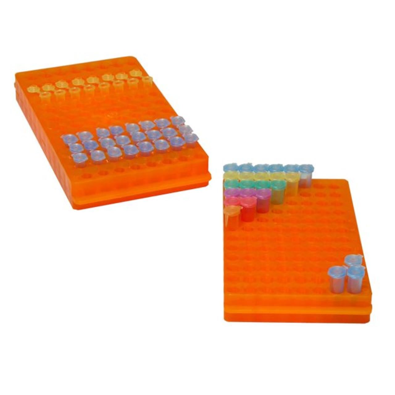 5pk Orange Hinged CryoBox