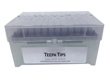 960 per Case 96 per Rack Sterile Filter Pipet Tips 100ul