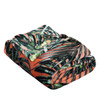 Printed Throw Blanket, Soft & Plush, 50x60, Leaf
