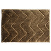 "Julia 20""x30"" Microfiber Bathroom Rug, Mat, Floor Cover, Ribbed Design"