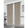 Gianna Pleated Jacquard 52X84 Inch Decorative Shining Elegant Lurex Window Curtain Panel
