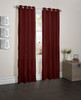 """Sherry Crushed Satin Window Curtain Panel - 52""""x84"""" - Carbernet"""