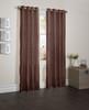 "Sherry Crushed Satin Window Curtain Panel - 52""x84"" - Latte"