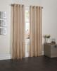 "Sherry Crushed Satin Window Curtain Panel - 52""x84"" - Honey"