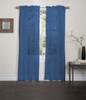 "Lisa Sheer Voile Window Curtain Panel, 55""x84"", 1 Panel"