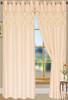 """Bali Faux Silk Curtain Panel 2 Pack, 54""""x84"""" - cream"""