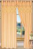 "Bali Faux Silk Curtain Panel 2 Pack, 54""x84"" - gold"