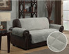 Micro-Suede Furniture Protector Gray Loveseat