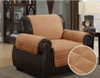 Micro-Suede Furniture Pet Dog Couch Protector Camel – 3 Sizes