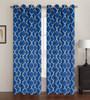 "2 Pack Celine Window Panel, Window Curtains, Lattice Pattern, 5 Colors, 54""x84"""
