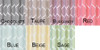 Swatch - Jacquard Wave Grommet Window Curtain Panel, Quinn, 54x90
