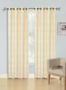 Jacquard Wave Grommet Window Curtain Panel, Quinn, 54x90, 1 Panel - Beige
