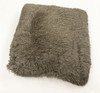 "Soft Plush Decorative 18"" x 18"" PV Fur Throw Pillow With Comfortable Fill"