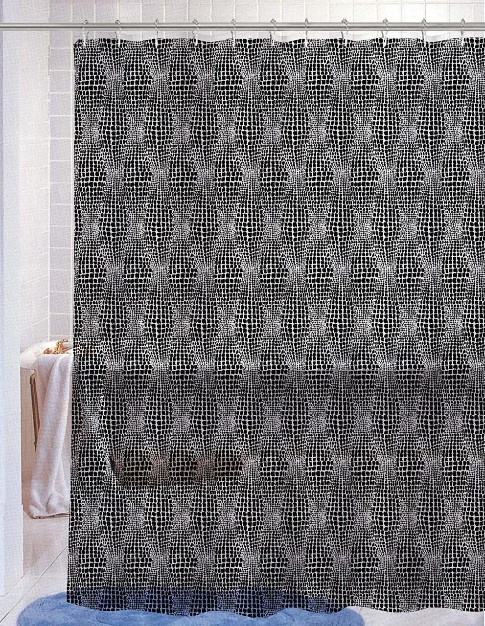 Shower Curtain PVC Free PEVA Printed Fun Colorful Paisley Floral Print 70x72 Kelsey