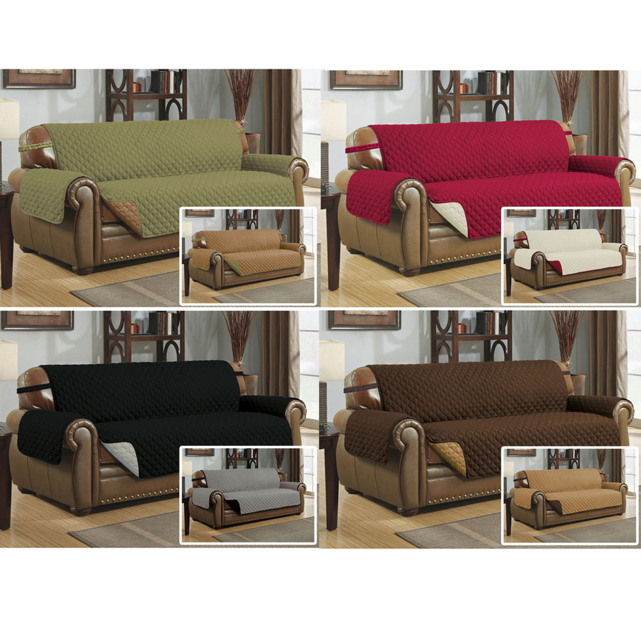 reversible quilted microfiber pet dog couch sofa furniture protector rh linenstore com sofa pet protector throw slipcover sofa pet protector australia