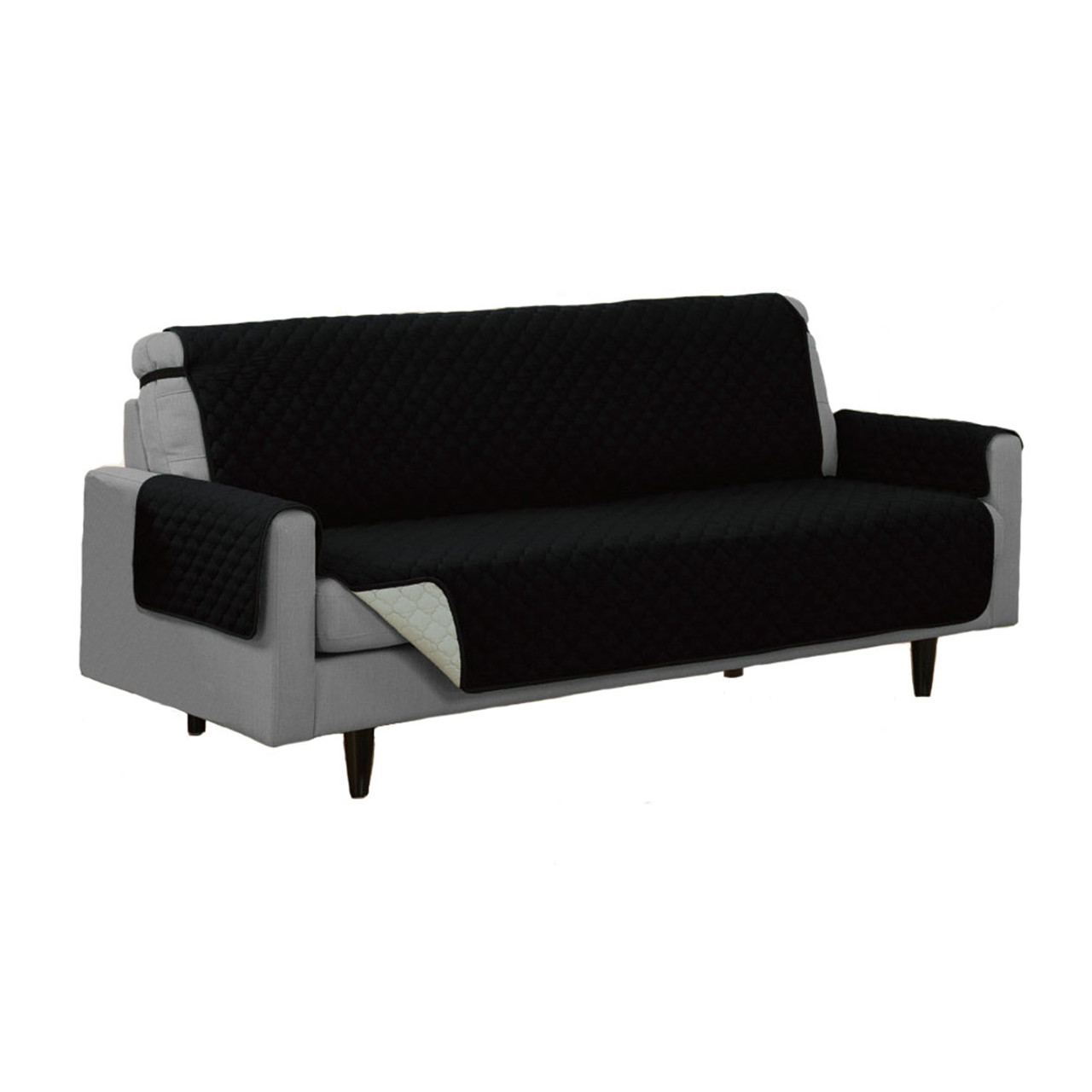 Reversible Furniture Protector Microfiber Pet Couch Sofa Chair 4
