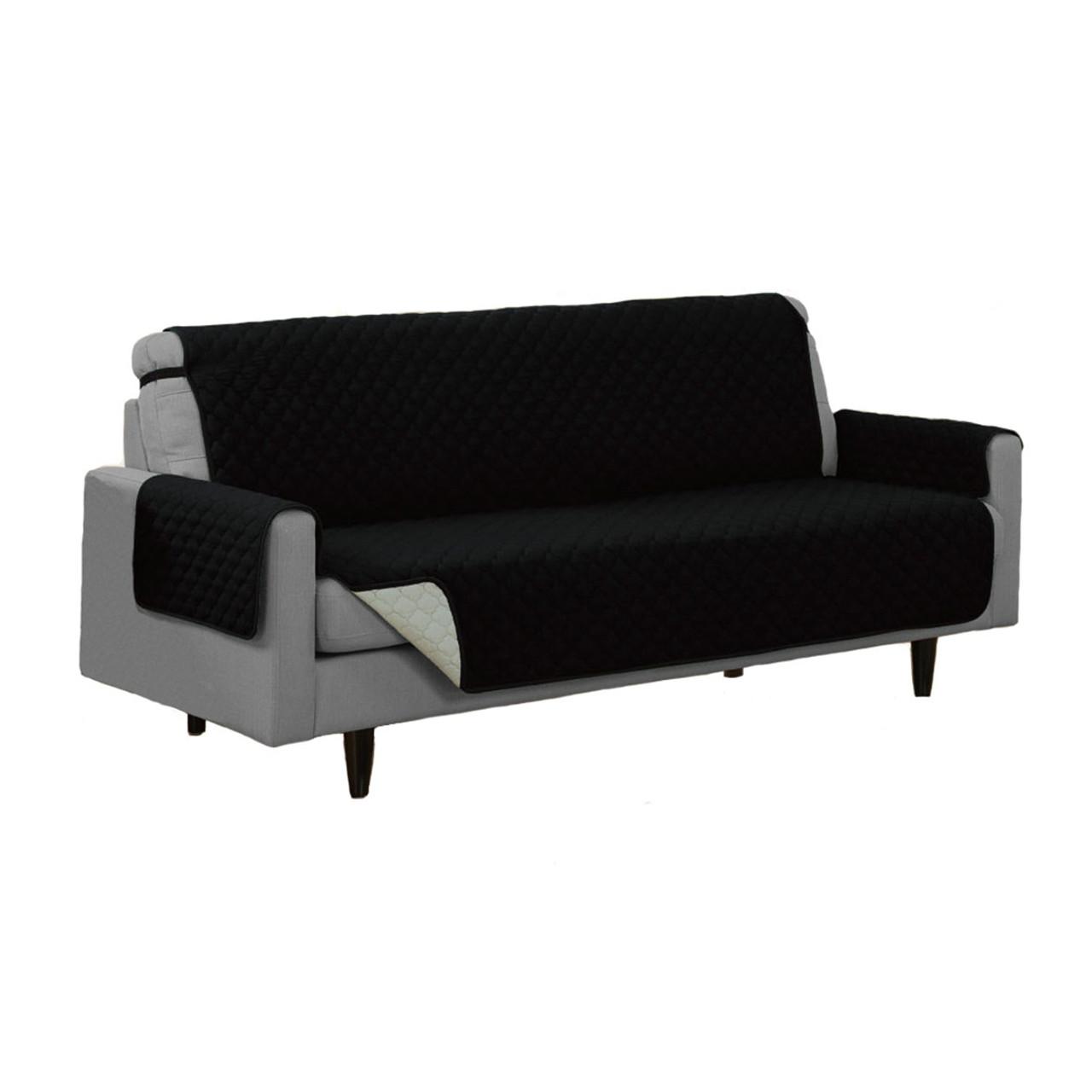 Reversible Furniture Protector Microfiber Pet Couch Sofa Chair  e86242c0c758