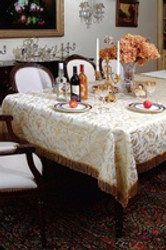 ​How to Get Stains out of Linen Tablecloths