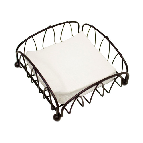 Oasis Collection Napkin Holder, NH029816, Brown Sand Finish (NH029816)