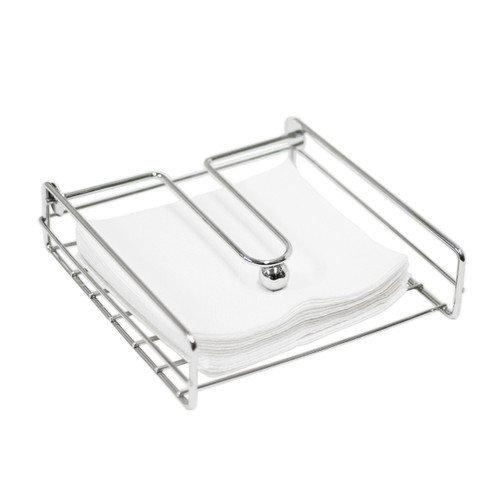 Oasis Collection Napkin Holder with Metal Weight Ball, NH029809, Chrome