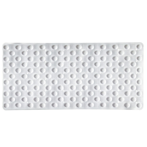 Bubble PVC Tub Mat White