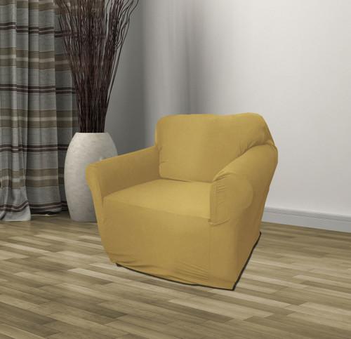Kashi Home Jersey Chair Slipcover Tan