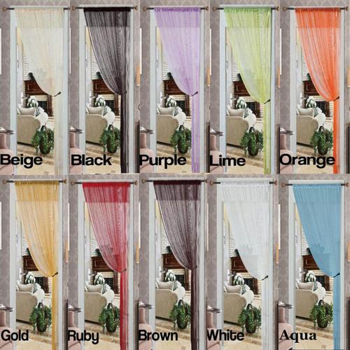 Thread String Curtains