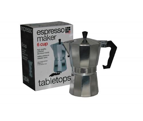 6 Cup Aluminum Espresso Maker