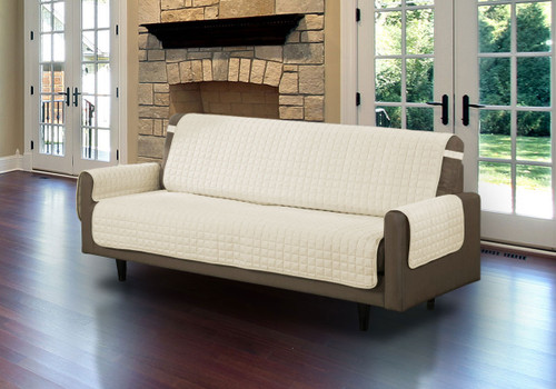 Furniture Protector Cover Quilted Microfiber Pet Dog Couch Sofa With