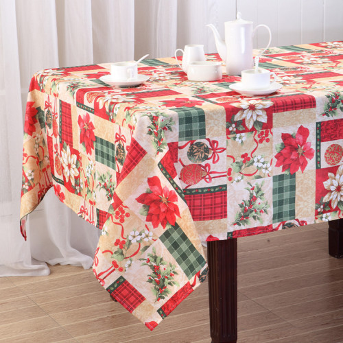 Christmas Gift Printed Fabric Tablecloth