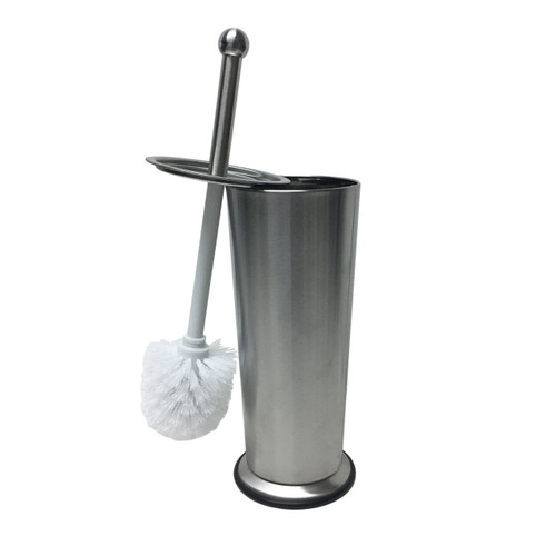 V-Shape Stainless Steel Toilet Brush & Holder, TB025931 (LS-TB025931)