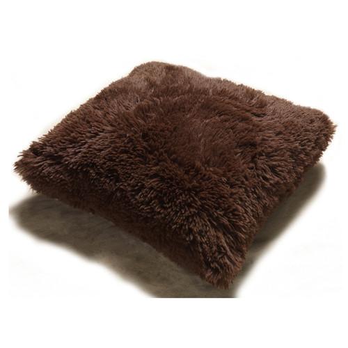 Fur Throw Pillow Pv Soft Plush Decorative 18 Quot X 18 Quot With