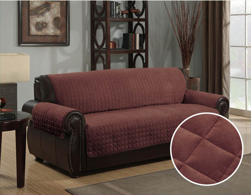 Kashi Home Micro Suede Furniture Protector Couch Sofa
