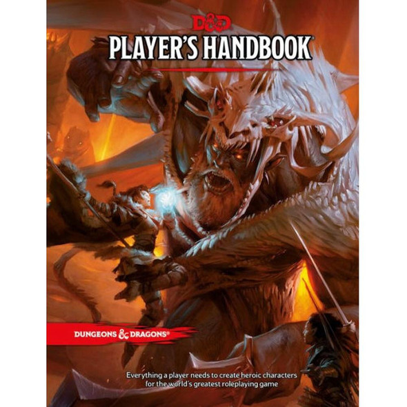 Wizards of the Coast Dungeons and Dragons Players Handbook 5th Edition