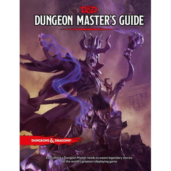 Wizards of the Coast Dungeons and Dragons Dungeon Masters Guide 5th Edition