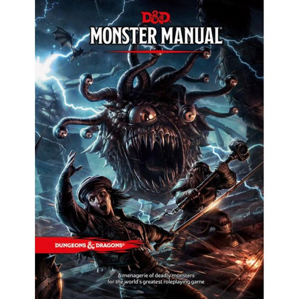 Wizards of the Coast Dungeons and Dragons Monster Manual 5th Edition