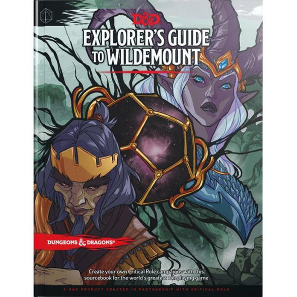 Wizards of the Coast Dungeons and Dragons Exploers Guide to Wildemount